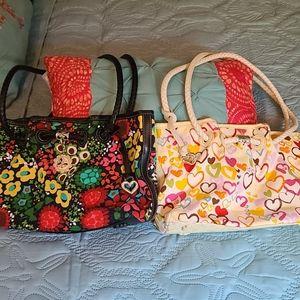 Set of 2 Brighton bags